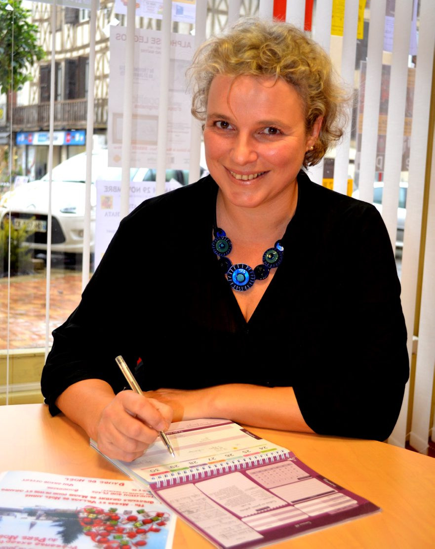 Céline Larigaldie, écrivain public