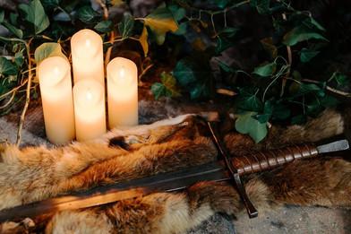 épée -Céline Larigaldie officiante cérémonie laïque