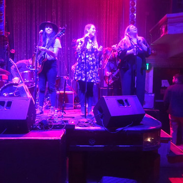 Brianna and 2 of her best friends Alex and Jillian at Johnny Brenda's