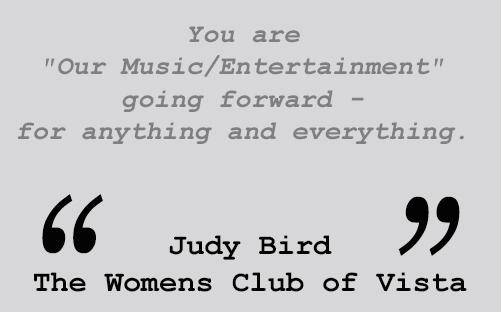 Testimonial  - Judy Bird