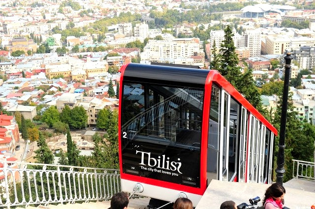 Funicular Train Tbilisi