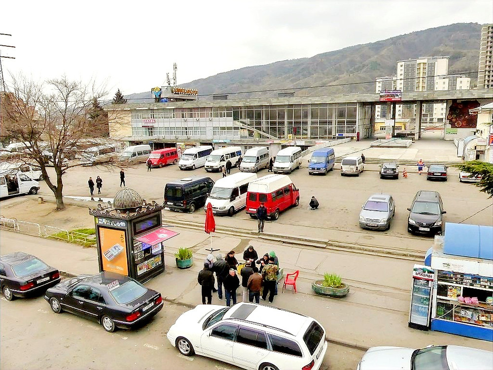 Ortachala Central Bus Station, Tbilisi