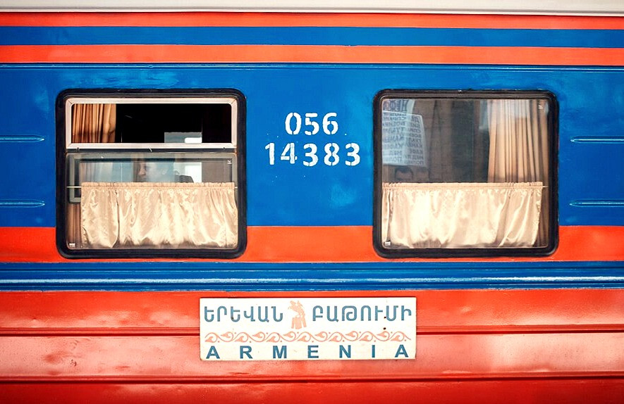 Tbilisi to Yerevan International Train