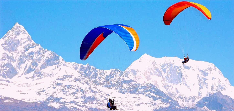 Gudauri Paragliding Activity
