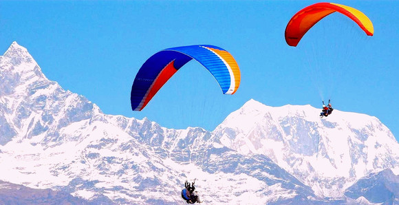 Gudauri Paragliding Activity