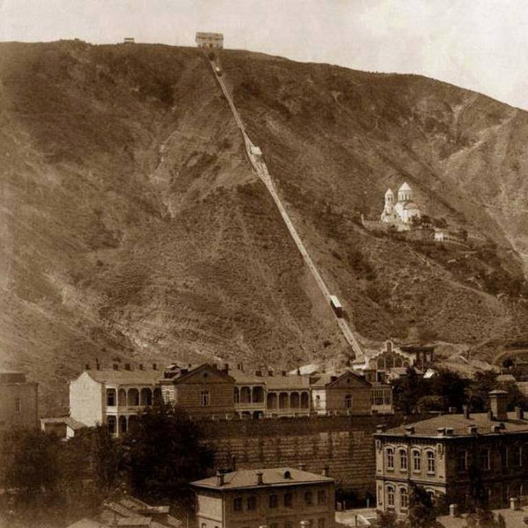 Tbilisi Funicular Historical Picture