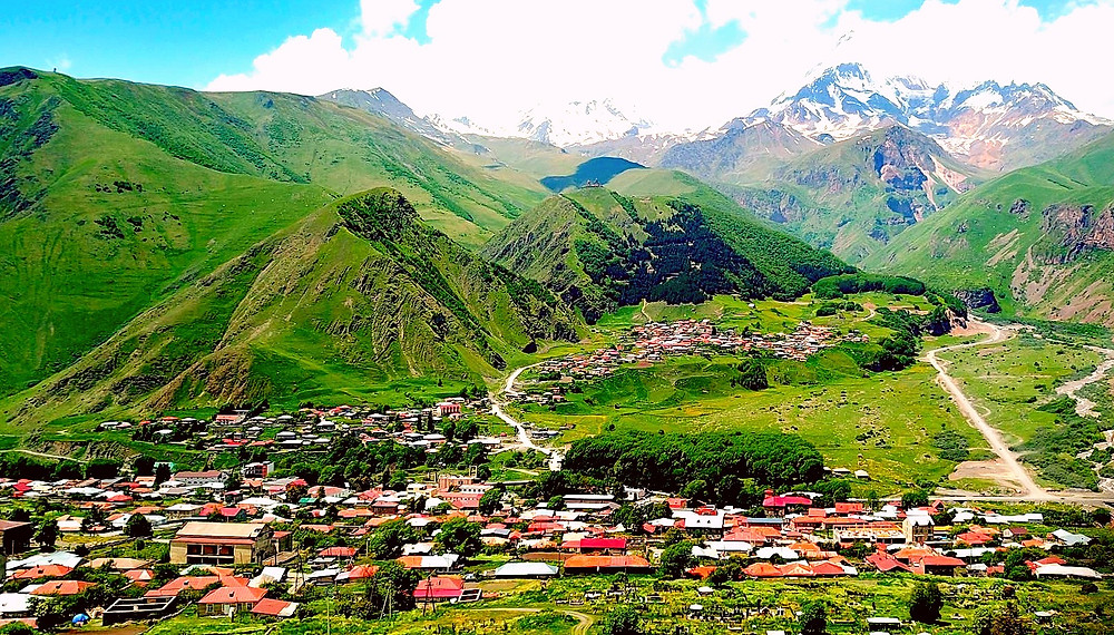 Stepantsminda Village