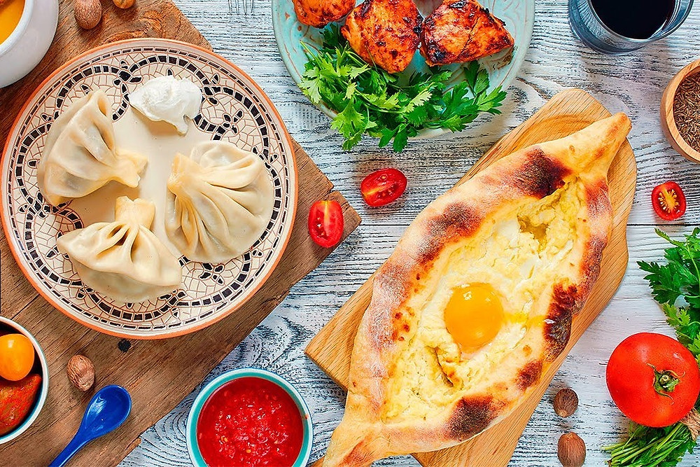 Khinkali and Khachapuri, Traditional Georgian Cuisine
