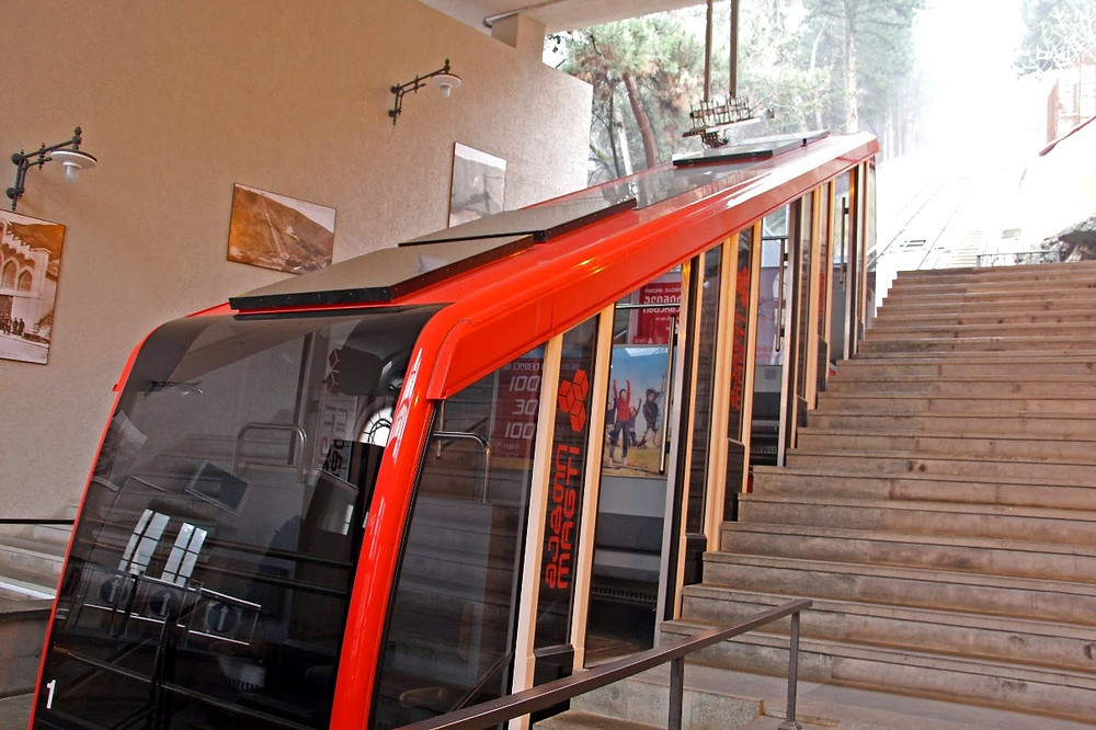 Funicular Lower Station Tbilisi