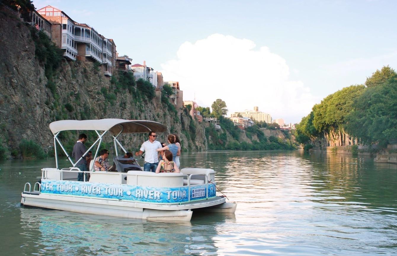 Boat Trip In Tbilisi
