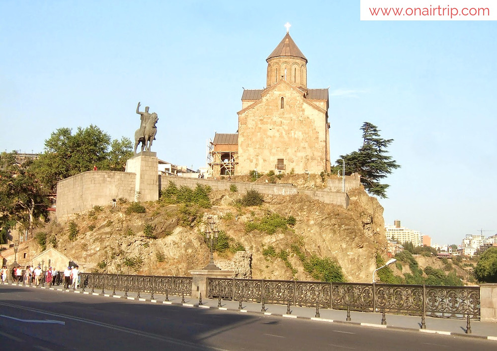 Metekhi Church, Tbilisi, Georgia