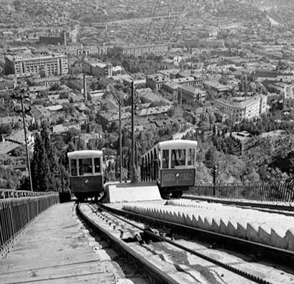 Old Funicular Train Picture