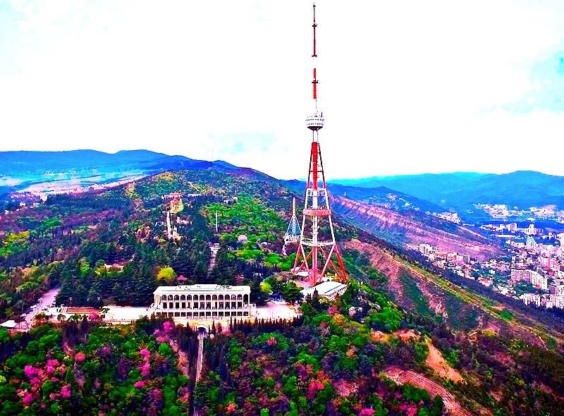 Mtatsminda Park | Amusement Park In Tbilisi | Tbilisi TV Tower
