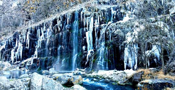 Dashbashi Canyon In Winter