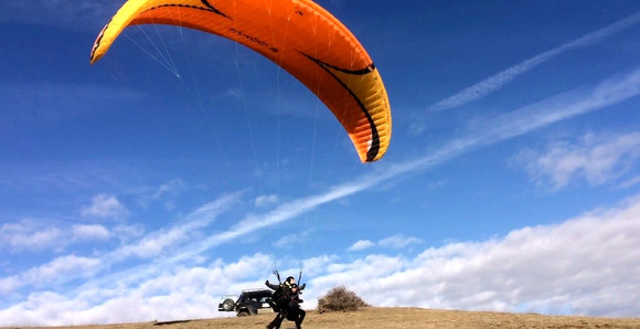 Paragliding In Tbilisi