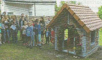 Spielhäuser für Waldorfkindergarten
