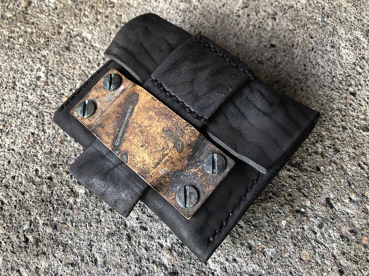 Horse butt coin case [BL]