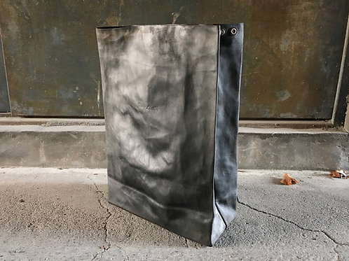 BW leather paper clutch bag [MB]
