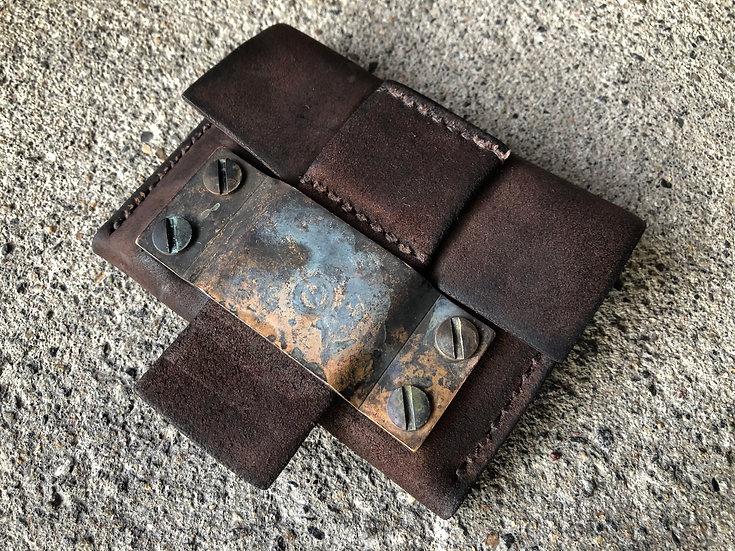 Horse butt reverse coin case [BR]