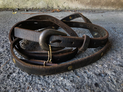 Devastated w long belt