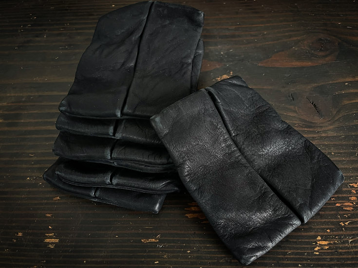 Cow leather pocket tissue case