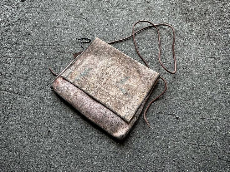 Japanese boar reverse shoulder bag