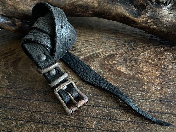 Antique finished long belt 19mm