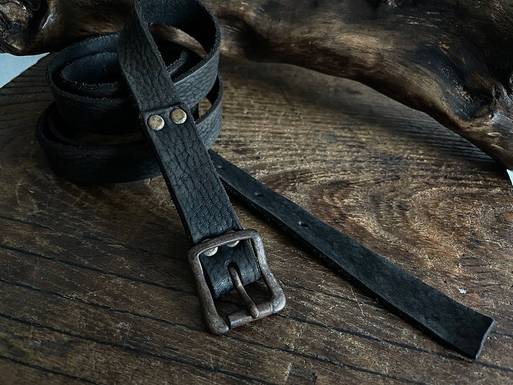 Antique finished long belt 20mm