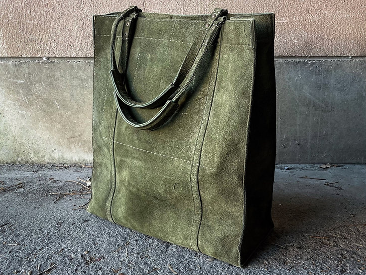 Kudu reverse military big tote bag