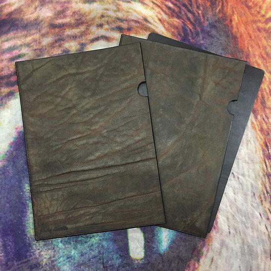 A4 Leather file [AB]