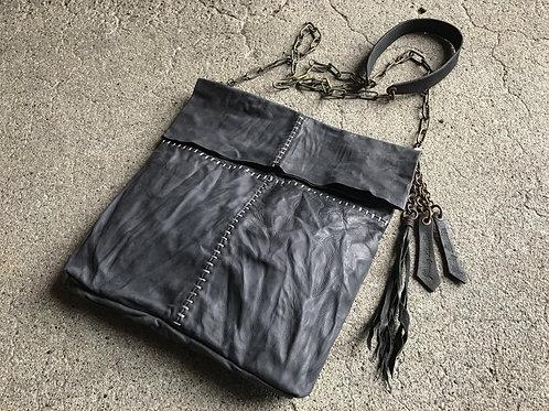 Italy calf cross stitch bag
