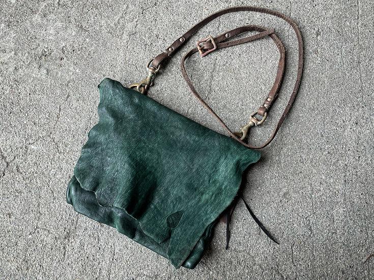 Horse leather shoulder bag