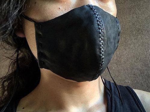 Sheep leather mask