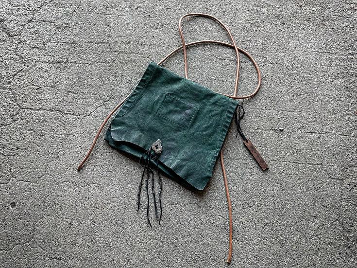Goat leather gypsy shoulder bag