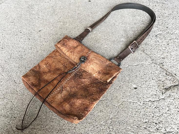 HC devastated shoulder bag [T]