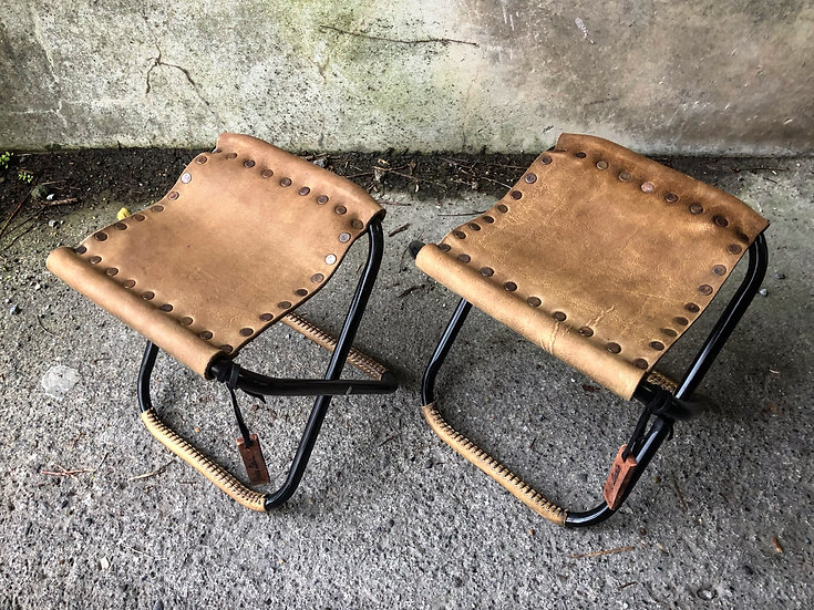VF Cow leather mini stool