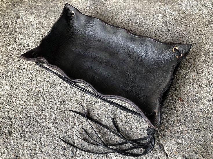 Interior leather tray