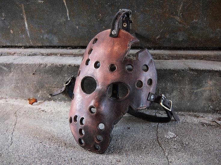 Leather hockey mask(Jason mask)