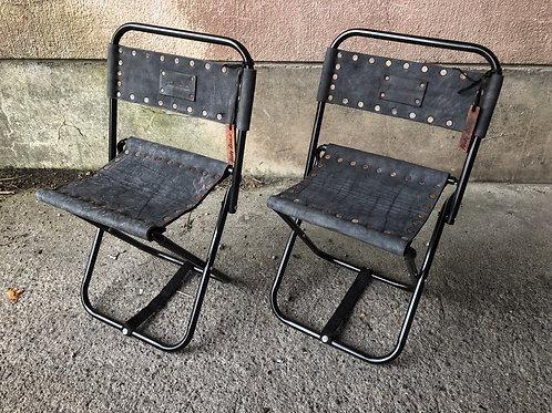Cow nuback mini chair