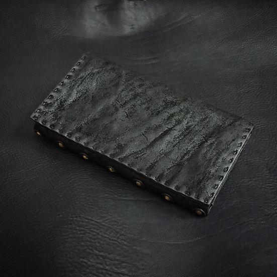 FB oil cow reverse long wallet [MB]