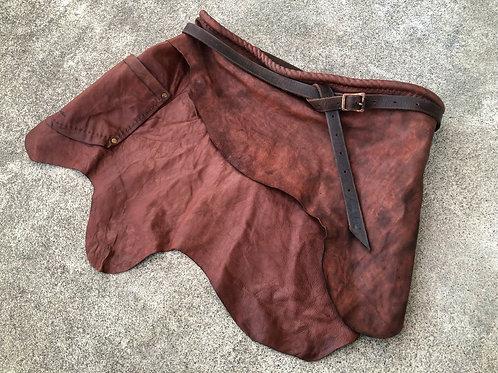 """Leather layered """"MAEKAKE"""" (OC) type3"""