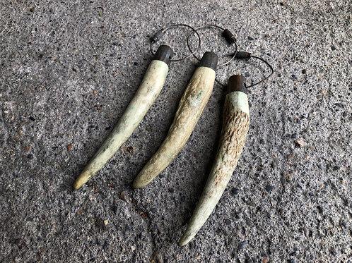 Deer horn key holder