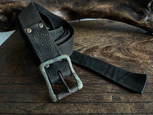 Antique finished long belt 30mm