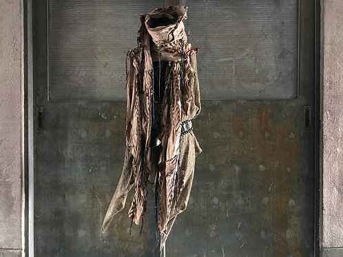 EX goat leather gypsy stole