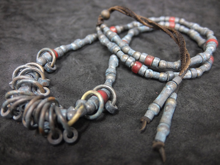 Junk beads ring necklace
