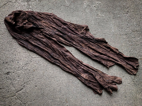 Italy sheep garment dyed stole [AB]