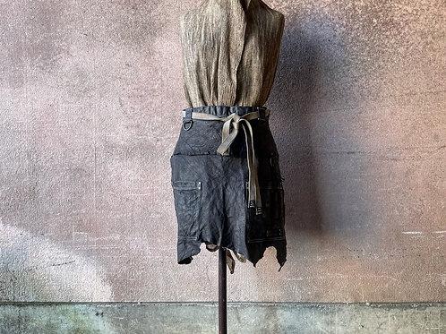 Cow leather salon apron