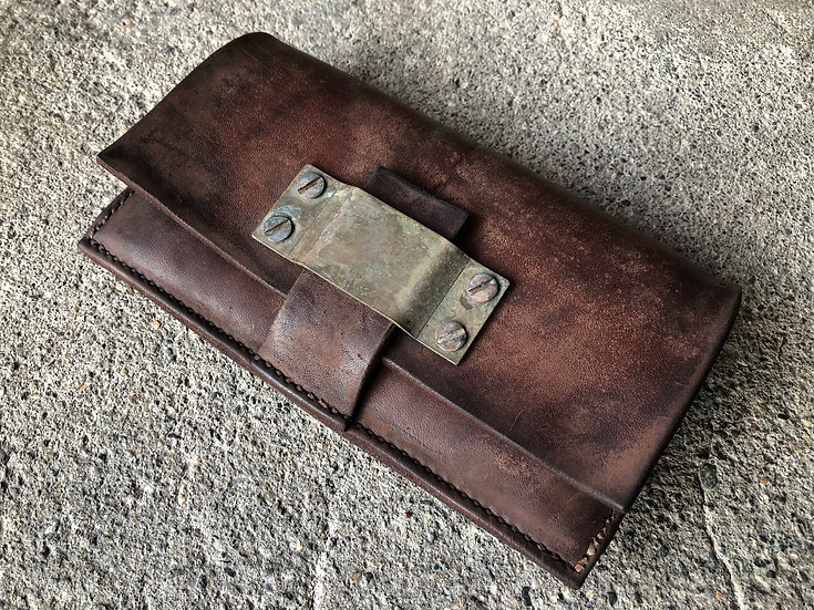 Horse butt long wallet [BR]