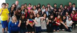 Wayo Women's University in May