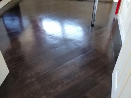 We Clean Karndean Flooring